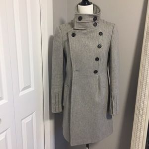 Zara | Grey Wool Winter Jacket